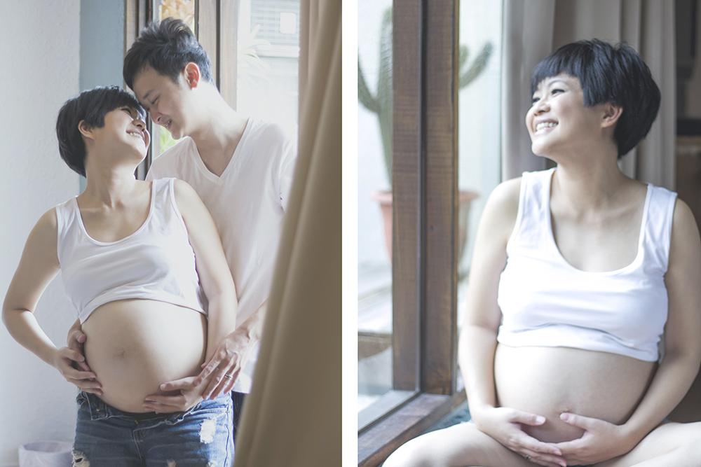 台中孕婦照拍攝推薦-日出映像-台中手工婚紗推薦