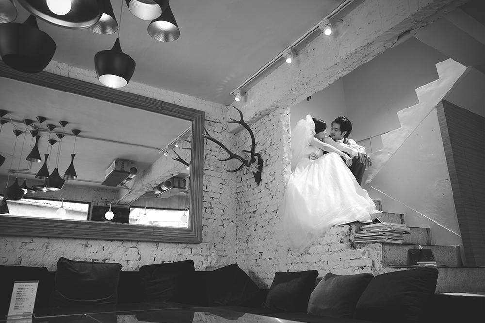 黑白婚紗-日出映像-台中婚紗推薦