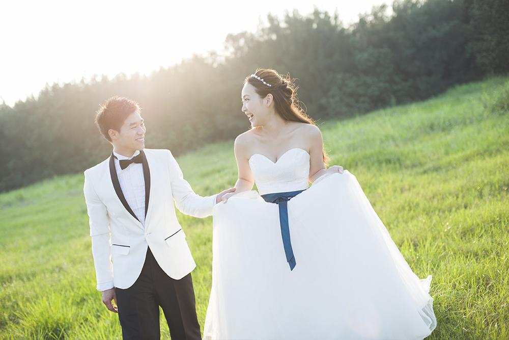 草地婚紗攝影-日出映像-台中婚紗推薦