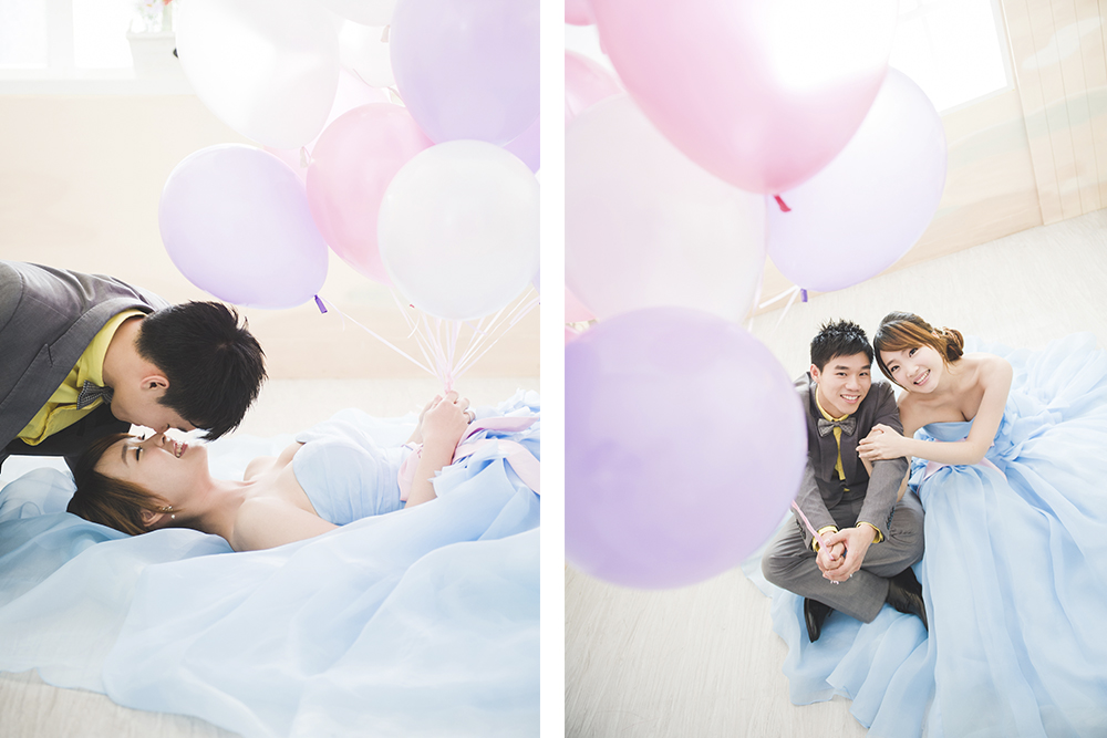 氣球婚紗風-日出映像-台中婚紗推薦