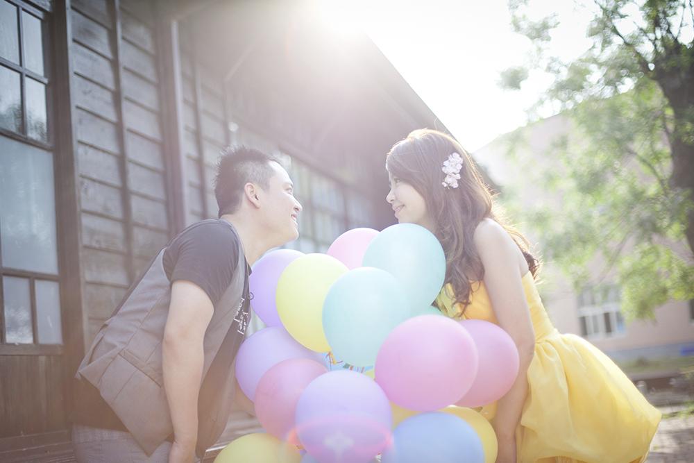 氣球婚紗攝影-日出映像-台中婚紗推薦